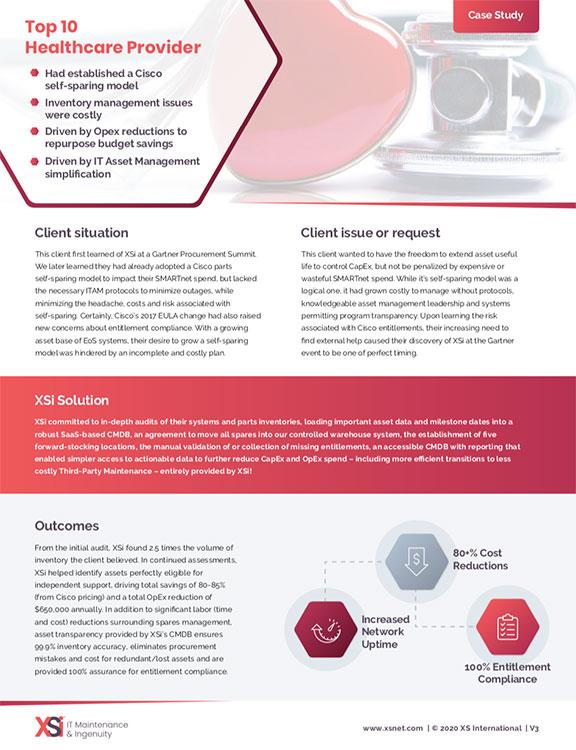 XSi Healthcare White Paper